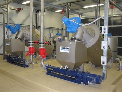 HUBER ROTAMAT - Model RoS 2 - Rotary Screw Thickener