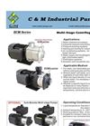 Model ECM Series - Multi-Stage Centrifugal Pumps Brochure