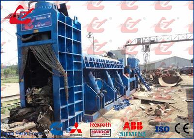 Wanshida - Model Y83Q-4000C - Scrap Metal Shear Baler