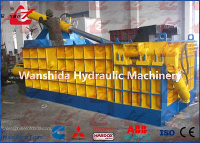 Wanshida - Model Y83-3150  - Heavy Duty Scrap Car Baler/Hydraulic Metal Balers/Compactors/Crushers