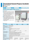 Yamato IC103C/113C/403C/413C/603C/613C/803C/813C/903C/913C Natural Convection Incubator - Brochure