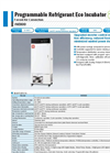 Yamato INE800 Eco Forced Convection Incubator - Brochure