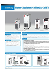 Water Circulator (Chiller) & Cold Trap Overview - Brochure