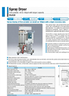 Yamato DL410 Larger Capacity Spray Dryer - Brochure