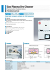 Yamato PDC200/210/510 Gas Plasma Dry Cleaner - Brochure