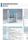 Yamato ADS101/131/161/191Clean Bench - Brochure