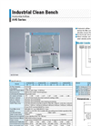 Yamato AHS101/131/161/191 Clean Bench - Brochure