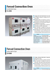 Yamato C4-008 Large Walk-in Forced Convection Oven - Brochure