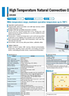 Yamato DG400/800/850 Natural Convection Oven - Brochure