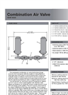 Durovent - Figure X955SS - Stainlees Steel Wastewater Combination Air Valve - Data Sheet