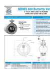 "AWWA - C504 Flanged 3"" to 24"" - Butterfly Valves - Data Sheet"