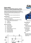 GA - Series 5670 - Pressure Relief/Sustaining Valves - Datasheet
