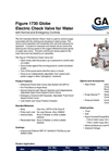 Electric Check Pump Control Valve Brochure