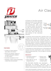 Mini Split Air Classifier Brochure
