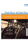 Triple Plus+ & Triple Plus+ IR - Portable Gas Detection Equipment Datasheet