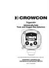 Crowcon - TXgard-IS+ - Intrinsically Safe Toxic and Oxygen Gas Detectors User Manual