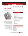 40/40R - Single IR Flame Detectors Datasheet