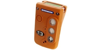 Crowcon - Model Tetra 3 - Top Display Personal Multi-Gas Monitor
