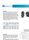 Model CV-B - Ball Check Valves Brochure