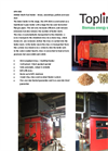 KPR-BSB 990kW Multi-Fuel Boiler - Straw, Woodchips, Pellets and Sawdust Brochure