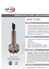 311-M351 Submersible Lift Station Sludge Level Transmitter Brochure