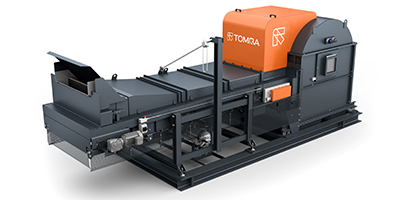 TOMRA - Model X-Tract - Waste Separator with X-Ray Technology
