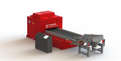 TOMRA - Model Com Color-NIR - Mining Sorting Machine