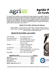 AgriAir 1200PAC - Air Purifier System Specification Sheet