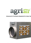 AgriAir 1000-3 Portable Air Purifier System Specification Sheet