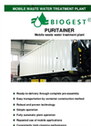 PURITAINER - Mobile wastewater treatment plant