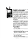 Particles Plus - Model 7301-IAQ - Remote Airborne Particle Counter and Environmental Monitor (CO2, Temp, RH) Datasheet