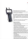 Particles Plus - Model 8206 - Handheld Particle Counter (0.2 µm @ 0.1 CFM) Datasheet