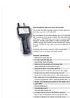Particles Plus - Model 8306 - Handheld Particle Counter (0.3 µm @ 0.1 CFM) Datasheet