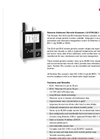 Particles Plus - Model 5510 - Remote Particle Counter (0.5 µm @ 1.0 CFM) Datasheet