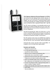 Particles Plus - Model 7301 - Remote Particle Counter (0.3 µm @ 0.1 CFM) Datasheet