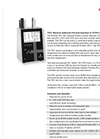 Particles Plus - Model 7501 - Remote Particle Counter (0.5 µm @ 0.1 CFM) Datasheet