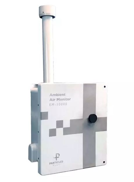 Particles Plus - Model EM-10000 - Ambient Air Monitor for Outdoor Particulate and Gas Monitoring System