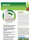 Azera - Hard Bodied and Soft-Bodied Insects Insecticide- Brochure