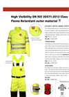 TST - Jacket With Hand Protection - Brochure