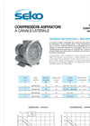 Model BL020001004 - BL020001M04 - Side Channel Compressors and Vacuum Pumps Brochure