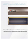 KSO - Open Loop Horizontal Water Heater - Brochure