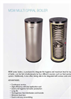 MSW - Multi Spiralle Water Heater - Brochure