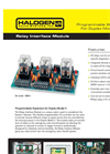 Halogen - Model 4500.14 - Relay Interface Module Brochure