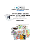 ArcGIS Course Applied to Environmental Management - Online Training - Brochure