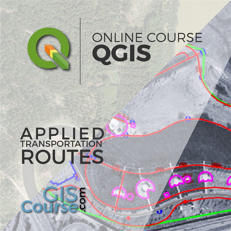 QGIS Course, Route Analysis, finding the shortest path