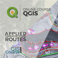 QGIS Course, Route Analysis, finding the shortest path – Online GIS Training
