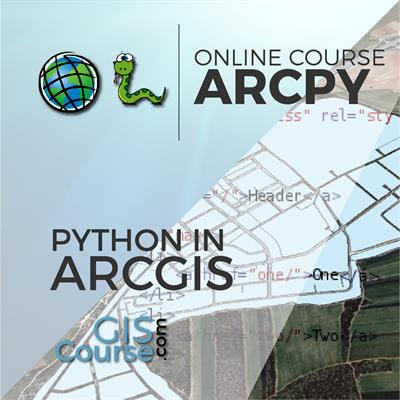 Using Python with ArcGIS (beginner level) – Online GIS Training