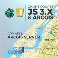 Development of Web Based GIS Applications using ArcGIS Server API 3.x for JavaScript – Online GIS Training