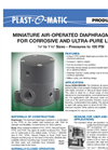 Model Series BSDA/BSDAM - Air-Operated Shut-Off Valves with PTFE Diaphragm Brochure