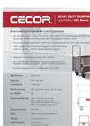 Cecor - Model 043 Series - Low Profile Dumping Carts - Brochure